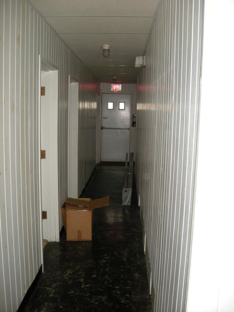 the back hall