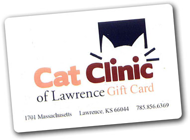 cat clinic gift cards